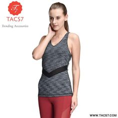 1ef928b750 Ladies Yoga Vest. Gym VestsYoga WearSports ...