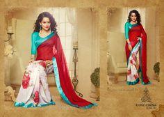 Kangna Ranaut Sarees Online   Saree Designs for Summer 2014-15   Sari - Clothing9   Latest Clothes Fashion Online   Pakistani Dress Designers