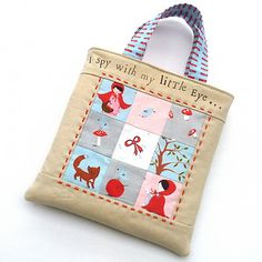 cute bag by Kerry with tutorial