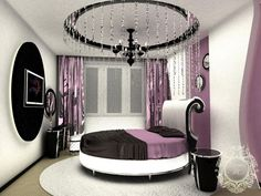 This room is just right for a teen. Not to girly not to dark, just perfest