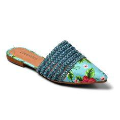Sandália chinelo rosabranco slide beira rio conforto promoção imperdível envio imediato