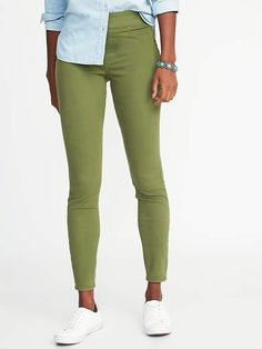 ffa08d3f93d25 Old Navy Olive Rockstar Jeggings for Women Shop Old Navy, Low Rise Jeans,  Style
