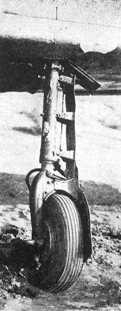 Mistubishi A3M3 Zero Landing Gear