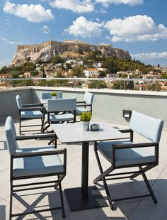 View from our hotel restaurant in Athens!  Can't wait for the honeymoon.
