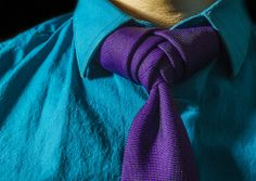 Shirt & Tie | Flickr - Photo Sharing! Boutonniere Knot for your tie.  Here's the how to video.