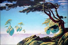 Roger Dean and the Gates of Delirium: Topographies of the Imagination Roger Dean, Dragon Dreaming, Fantasy Island, English Artists, Tumblr, Science Fiction Art, Fantasy Landscape, Art Fair, Art Google