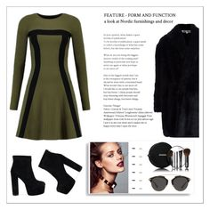 """""""skada day ↪ party"""" by jennyc0p ❤ liked on Polyvore featuring Alexander McQueen, Chanel and Christian Dior"""