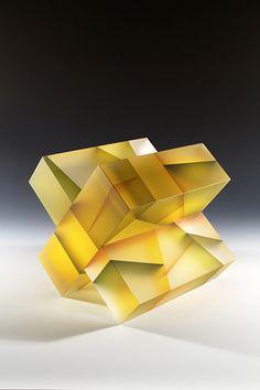 Jiyong Lee - Segmentation, glass sculptures