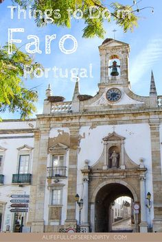 Things to Do in Faro Algarve Portugal - Sights that will make you want to visit Faro Portugal - The Algarve is generally known as an overcrowded popular summer holiday destination. But the Algarve offers much more than cheap booze and package holidays. Faro is a understated gem, located on the southernmost tip of Portugal, full of incredible sights dating back centuries ago. When are you visiting?: Faro Algarve Portugal, Lagos Algarve, Portugal Vacation, Portugal Travel Guide, Visit Portugal, Spain And Portugal, Portugal Attractions, Holiday Destinations, Travel Destinations