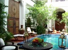 Every been to Marrakech? Check out the fabulous Riad Les Yeux Bleus on http://theculturetrip.com/africa/morocco/articles/historic-morocco-the-ten-best-riads-in-marrakech/