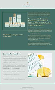 Mademoiselle Saint-Cloud - Lucie Conan - Graphiste Freelance Paris
