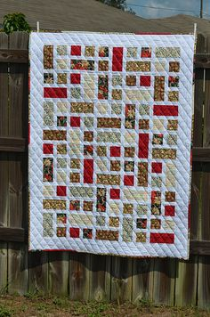 Christmas Quilt Front by J Taylor Quilts