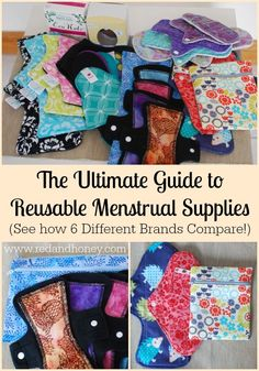 The benefits of cloth pads + menstrual cups are undeniable. They are more frugal, more comfortable, way cuter, and totally healthier! Check them out - you might end up being surprised by how much you love them.