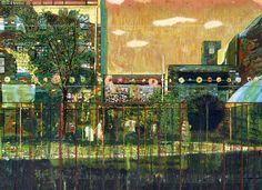 Night Playground - Peter Doig, 1997