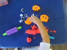 Five little monsters went to preschool | Teach Preschool