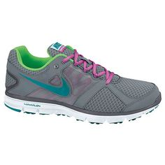 Nike Lunar Forever 2 Women's Running Shoes. I have a weakness for grey and pink! Seriously.. I love tees and those two colors!