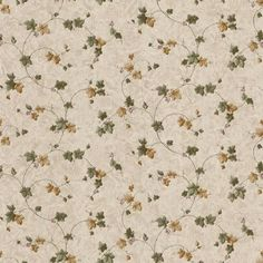 The Wallpaper Company 8 in. x 10 in. Green and Gold Ivy Trail Wallpaper Sample - The Home Depot Wallpaper Companies, Wallpaper Samples, Beige Wallpaper, Mountain Wallpaper, Prepasted Wallpaper, Beige Walls, Blue Mountain, Mold And Mildew, Textured Background