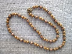Miriam Haskell Vintage Necklace by FLauraChristine on Etsy