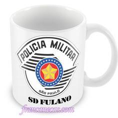 Francanecas.com    Caneca Personalizada Policial Militar SP