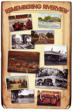 I have many fond memories of Riverview Amusement Park in the 1950's - early 1060's.
