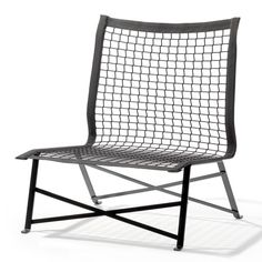 Cologne 2012: Dutch designer Bertjan Pot showed this chair made of a tennis net at imm cologne 2012.