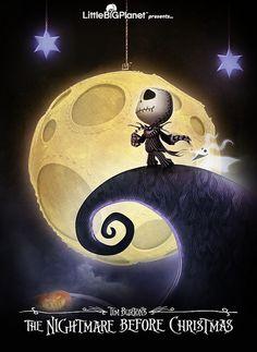 LittleBigPlanet - Tim Burton's The Nightmare Before Christmas poster