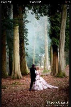Forest wedding!