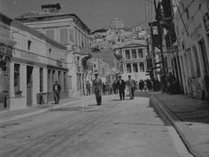 Ερμού Syros Greece, Athens Greece, Greek Islands, Lisbon, Old Photos, Landscapes, Street View, Fine Art, Black And White