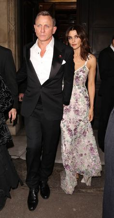 Daniel Craig and Rachel Weisz greet Prince William and Prince Harry at the Bond Spectre premiere in London Lainey Gossip Entertainment Update