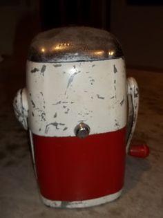 antique ice crusher