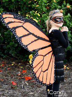 Schmetterling Kostüm selber machen | Kostüm Idee zu Karneval, Halloween & Fasching