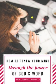 Learn how to apply God's Word to renew your mind daily and demolishing the lies the Devil tells you about your future, pop over the 31Wife in Training blog for more | Speak life | How to renew your mind | How to overcome the lies of the enemy | Speak God's Word over yourself & your circumstances #bible #thebiblesays #biblescriptures #speaklife Christian Women, Christian Living, Christian Quotes, Take Every Thought Captive, Bible Study Tips, Inspirational Articles, Proverbs 31 Woman, Speak Life, Gods Promises