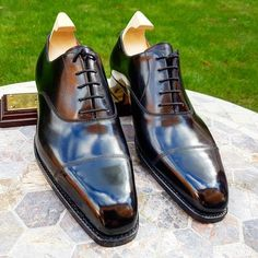 Ascot Shoes — Our last pair of John Lobb City II size Is. Ascot Shoes, Gents Shoes, Gentleman Shoes, Derby, Business Shoes, Leather Cap, Mens Fashion Shoes, Luxury Shoes, Loafers Men