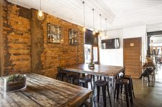 Melbourne cafe couture! Industrial and rustic sprinkled with a dash of coffee ... perfect! @Karrottopdesign