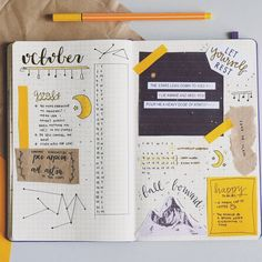 Bullet Journal : utiliser du scotch pour plus de créativité Bullet Journal : use scotch for more creativity
