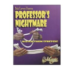 Professor's Nightmare Pro by Royal Magic - Trick How To Do Magic, Learn Magic, Magic Tricks Illusions, Magic Supplies, Sleight Of Hand, One Stroke, Magic Book, Tole Painting, Step By Step Instructions