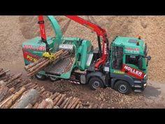 Elkaer HS2300 Astsäge   FENDT 820 Vario   Heckenpflege - YouTube