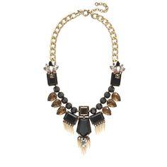 Golden fringe statement necklace - necklaces - Women's jewelry - J.Crew