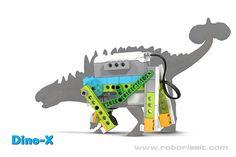 Wedo curriculum Dino-X Lego Wedo, Dino Park, Educational Robots, Lego Machines, Lego Animals, Prehistoric World, Lego Robot, Upcycling Projects, Lego Ideas