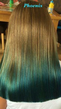 Video by Susan Blackburn Phoenix Hair, Turquoise Hair, Coloured Hair, Color Melting, Bright Hair, Blue Lagoon, Blue Hair, Stylists, Hair Color
