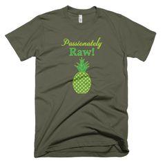 Passionately Raw! Short Sleeve Men's T-Shirt