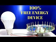 How To Make a Free Energy Device Using Magnet - Free Energy Generator ! Self Running Machine - YouTube