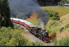 RailPictures.Net Photo: Ab 663 Mainline Steam Heritage Trust Steam 4-6-2 at Near Wanganui, New Zealand by John Russell