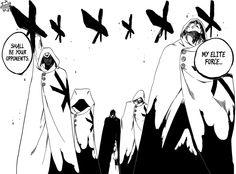 Bleach chapter 599 - Yhwach's Elite Sternritter squad