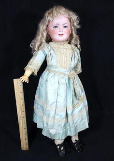 Princess Elizabeth German Bisque Head Character Doll Schoenhau Hoffmeister | eBay