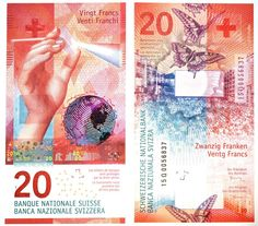 New banknotes for Switzerland