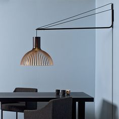 Secto Design Varsi 1000 | Pendants | Lighting | Finnish Design Shop. Varsi 1000 by Secto Design is a suspension arm that allows you to attach your pendant into the wall whenever ceiling installation is not an option.