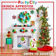 The Grinch is here to steal Christmas! This Glitter Grinch Santa Cutout is a fun addition to your mantle decorations. Grinch Party, Grinch Christmas Party, Christmas Party Themes, Xmas Party, Christmas Holidays, Christmas Ideas, Grinch That Stole Christmas, Christmas 2019, Holiday Ideas