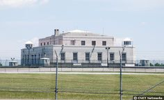 The United States Bullion Depository, better know as Fort Knox. It's our country's major store of gold buillion, said to hold 147.3 million ozs of the precious gem. It opened in 1937 and has had as much as 649.6 million ozs of gold (at the start of America's participation in World War II) Located in Fort Knox, Kentucky, an Army installation just south of Louisville. Extremely off limits to the public & it's not supposed to be able to take photographs of it.