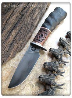 Wayne Morgan Forged Knives.